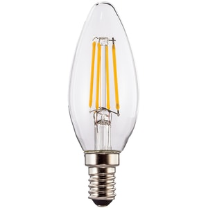 Bec LED XAVAX 112554, E14, 4W, 2700K, Alb cald BEC112554