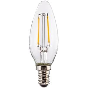 Bec LED XAVAX 112555, E14, 2W, 2700K, Alb cald BEC112555