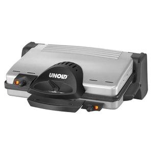 Gratar electric UNOLD U8555, 2100W, argintiu-negru GRTU8555