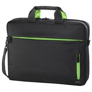 "Geanta laptop HAMA Marseille, 15.6"", poliester, gri-verde GNT10128"
