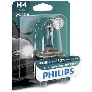 Bec auto far halogen PHILIPS H4 X-treme Vision+130%, 12V, 60/55W, P43T-38, blister 1 bucata AUT12342XVB1