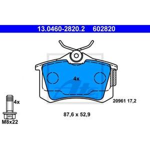 Placute frana spate ATE 13046028202, VW, Audi, Skoda AUT13046028202