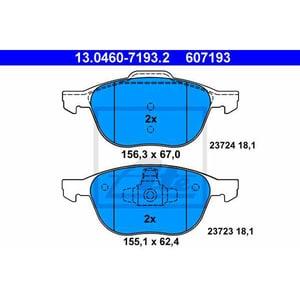 Placute frana fata ATE 13046071932, Ford AUT13046071932