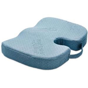 Perna confort pentru sezut MEDIASHOP Miracle Bamboo M14487, albastru TXTM14487