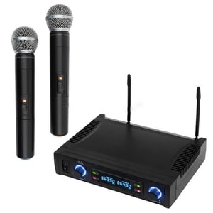 Set microfoane wireless SAL MVN 700, 2 buc, 100m, negru MCRMVN700