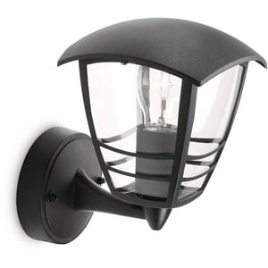 Lampa de perete PHILIPS myGarden 15380/30/16, 60W, IP44, negru CIL153803016