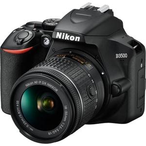 Aparat foto DSLR NIKON D3500, 24.2 MP, negru + Obiectiv AF-P 18-55mm VR SLRD3500AFP1855