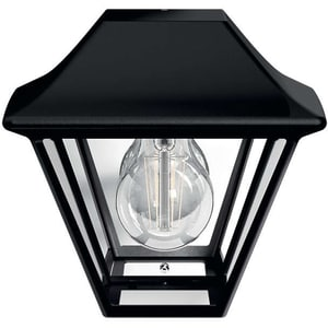 Lampa de perete PHILIPS myGarden Alpenglow 16494/30/PN, 42W, IP44, negru CIL915005382001
