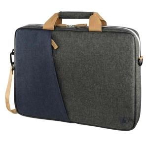 """Geanta laptop HAMA Florence 185609, 13.3"""", gri-albastru GNT185609"""