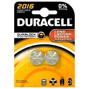 Baterii DURACELL Duralock Litiu CR2016, 2 bucati BATDURCR2016B2