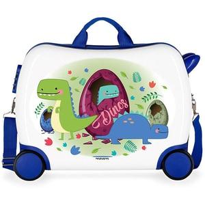 Troler copii MOVOM Dinos 37299.67, 38 cm, multicolor VTR3729967