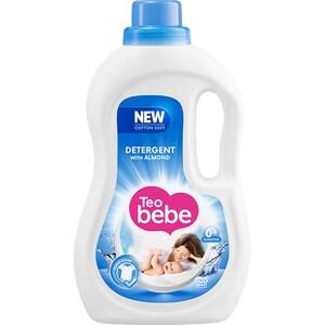 Detergent lichid TEO BEBE Cotton Soft Almond, 1.1l, 20 spalari CONDLTBALM1120