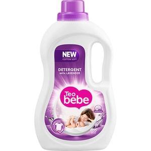 Detergent lichid TEO BEBE Cotton Soft Lavender, 1.1l, 20 spalari CONDLTBLAV1120