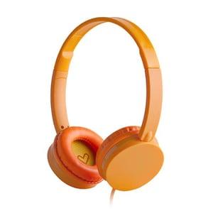 Casti ENERGY SISTEM Colors ENS394883, Cu Fir, On-Ear, portocaliu CASENS394883