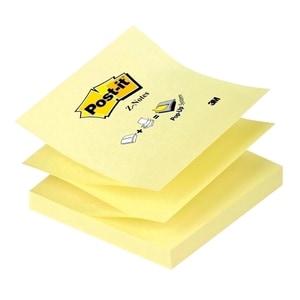 Notite adezive 3M Z-Notes, 100 file, 76 x 76mm, diverse culori PBH3M1076763