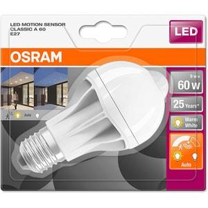 Bec LED cu senzor OSRAM Miscare A60, 9W, E27 BECSENZORMISC