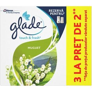 Rezerva GLADE Touch & Fresh Muguet, 3x10ml CON307287