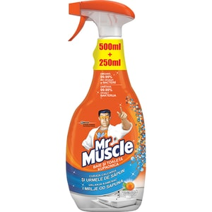 Solutie de curatare MR. MUSCLE Baie, 750ml CON693552