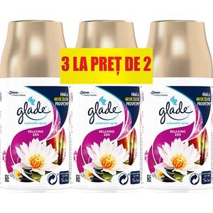 Rezerva GLADE Automatic Spray Relaxing Zen, 3x269 ml CON307821