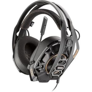 Casti gaming PLANTRONICS Rig 500Pro Sport Edition, Noise cancelling, Binaural, multiplatforma, 3.5mm, negru CASPLP00110