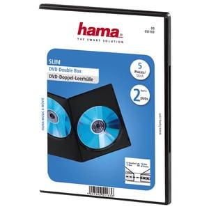 Carcasa DVD HAMA 51183, negru MDSCARC51183