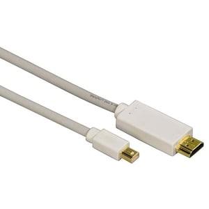 Adaptor Mini Display Port - HDMI HAMA 53220, 1.5m, alb CAB53220