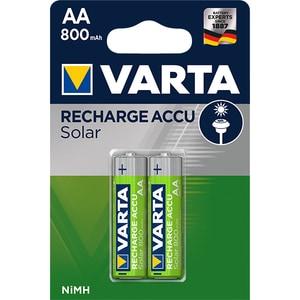 Acumulatori solar VARTA AA, NiMh 800 mAh, 2 bucati BATVAR800BL2