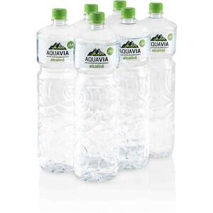 Apa plata alcalina AQUAVIA bax 2L x 6 sticle BAR948935005996