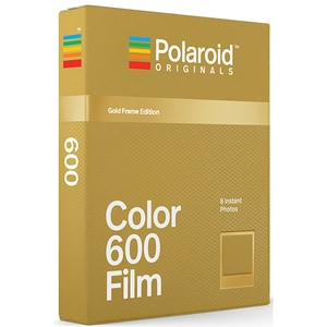 Film Instant color POLAROID Originals Gold Frame Edition, pentru Polaroid 600 ASL4859