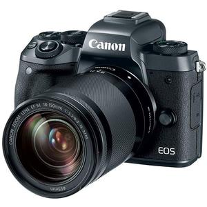 Camera foto Mirrorless CANON EOS M50, 24.1 MP, Wi-Fi, negru + Obiectiv M18-150mm SEE MLCM50B18150
