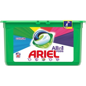 Detergent capsule ARIEL All in One PODS Color, 40 spalari CONDCARIELCOL40
