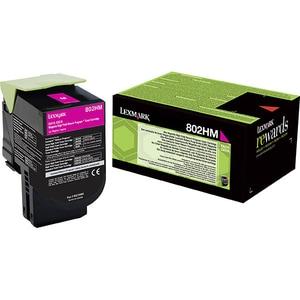 Toner LEXMARK XL 80C2HM0 802HM Return Program, magenta CSM80C2HM0