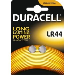 Baterii alcaline DURACELL LR44, 1.5V, 2 bucati BATLR44
