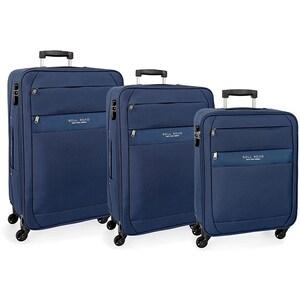 Set trolere ROLL ROAD Abey 5079423, 55-68-78 cm, 3 buc, albastru VTR5079423