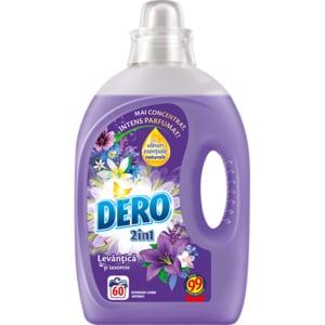 Detergent lichid DERO Lavanda, 3l, 60 spalari CONDLDLA3060