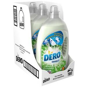 Pachet Detergent lichid DERO Ozon+ Roua Muntelui, 3x3l, 180 Spalari CONDLDRM6180