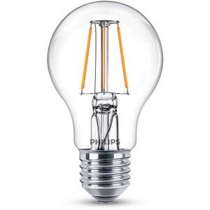 Bec LED PHILIPS FILAMENT A60, 4W (40W), E27, Lumina Calda BEC929001237117