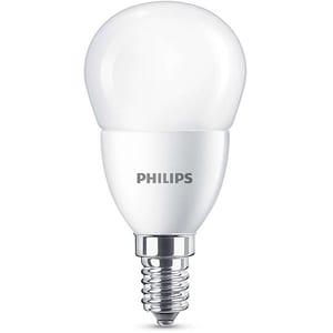 Bec LED PHILIPS P45, 7W (60W), E14, Lumina Rece BEC929001325501