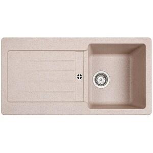 Chiuveta bucatarie TEKA KEA 45B TG 1B 1D, 1 cuva, picurator reversibil, granit sandbeige CVT88790