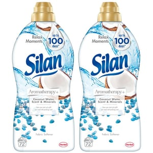 Balsam de rufe SILAN Aromatherapy+ Coconut Minerals, 2 x 1.8l, 148 spalari CONBSLNACM3700