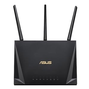 Router Wireless Gigabit ASUS RT-AC1750U, Dual-Band 450 + 1300 Mbps, USB 3.1, negru ROURTAC1750U