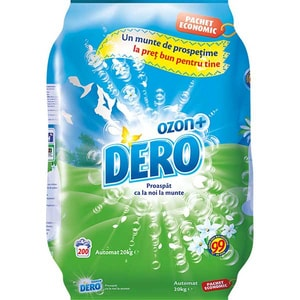 Detergent automat DERO Ozon Roua Muntelui, 20kg, 200 spalari CONDEROAORM20KG