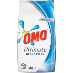 Detergent automat OMO Ultimate Active Clean Duo, 10kg, 100 spalari CONOMOACDUO10KG