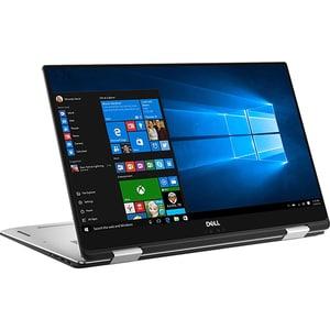 "Laptop 2 in 1 DELL XPS 15 9575, Intel Core i7-8705G pana la 4.1GHz, 15.6"" UHD 4K Touch, 16GB, SSD 512GB, AMD Radeon RX Vega M 4GB, Windows 10 Pro, Silver LAP95757998"