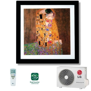 Aer conditionat LG Artcool Gallery A12FR, 12000 BTU, A++/A+, Wi-Fi Ready, tablou AERA12FRNSF