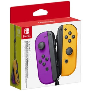 Pereche Joy-Con NINTENDO Switch, neon purple-orange GAMNSW0035