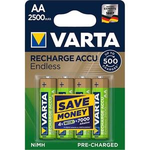Acumulatori VARTA Endless 56686101404, Ni-Mh, AA(R6), 2500 mAh, 4 bucati ACM56686101404