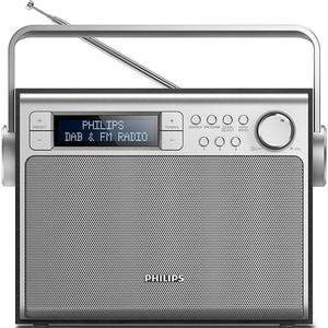 Radio portabil PHILIPS AE5020B/12, FM, argintiu LMCAE5020B12