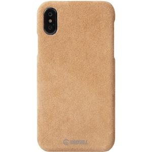 Carcasa de protectie KRUSELL Broby pentru iPhone XS, Maro AHSKRS61438