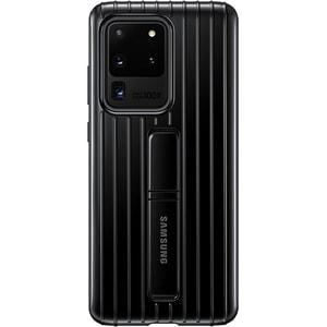 Husa Protective Standing pentru SAMSUNG Galaxy S20 Ultra, EF-RG988CBEGEU, negru AHSRG988CBEGEU